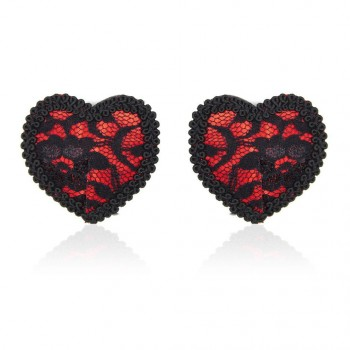 Пэстисы Red lace heart